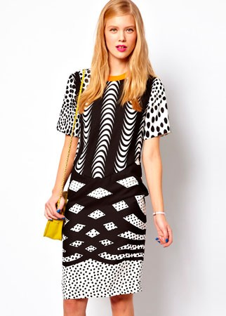ASOS printed T-shirt dress, £55
