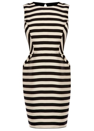 Warehouse striped dress, £60