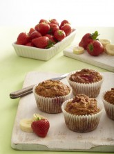 Strawberry & Banana muffin