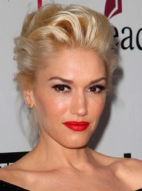 Gwen Stefani party hair