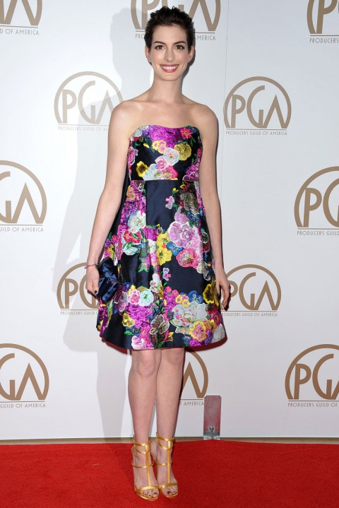 Anne Hathaway at the Producers Guild of America Awards 2013