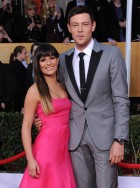 Lea Michele and Cory Monteith at the Screen Actors Guild Awards