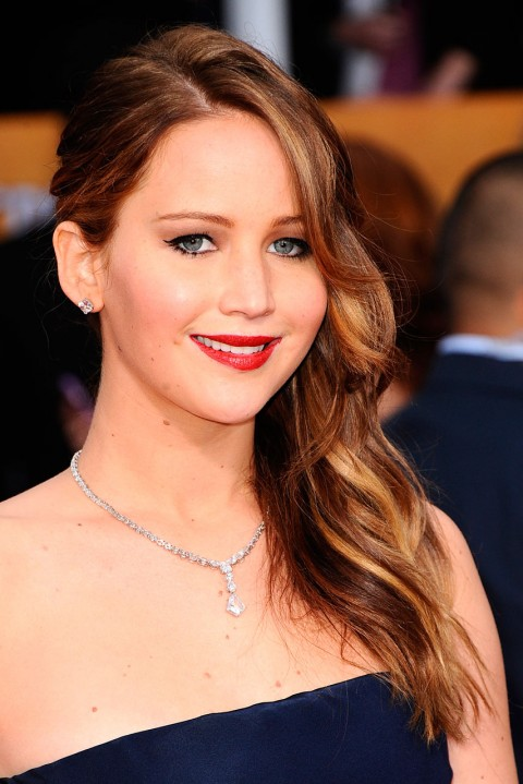 Jennifer Lawrence at the Screen Actors Guild Awards 201