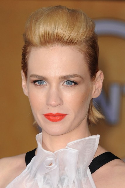 January Jones hair loss