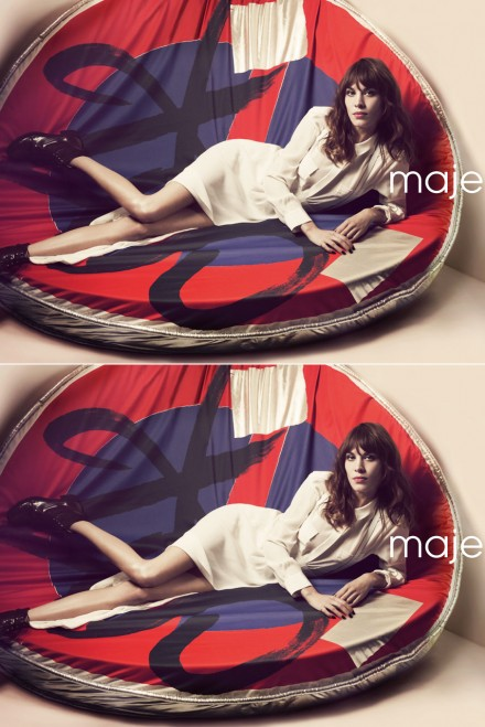 Alexa Chung for Maje spring/summer 2013