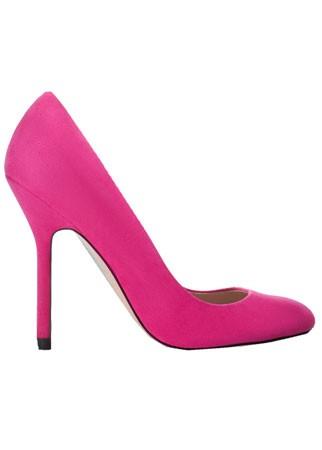 Zara suede courts, £49.99