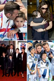 Beckham Family Album News