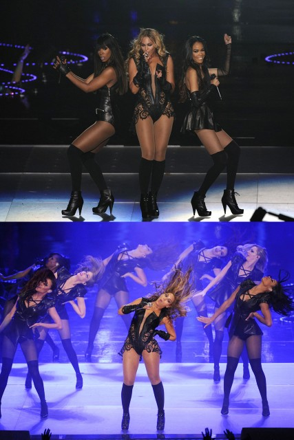 Beyonce Super Bowl 2013 performance