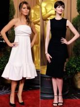 Oscars dresses 2013