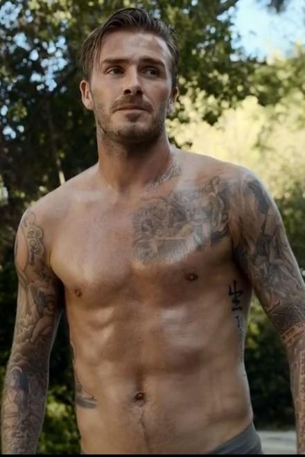 David Beckham H&m Bodywear ad
