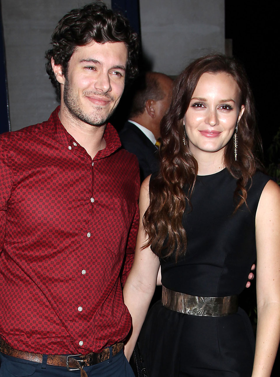 Leighton Meester with Husband