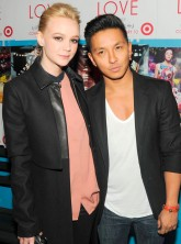 Carey Mulligan and Prabal Gurung at the launch of Prabal Gurung for Target in New York