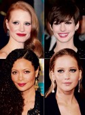 BAFTAs 2013 Beauty and Hair Moments