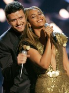 Beyonce Knowles and Justin Timberlake