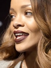 Behind-the-scenes at Rihanna's River Island show