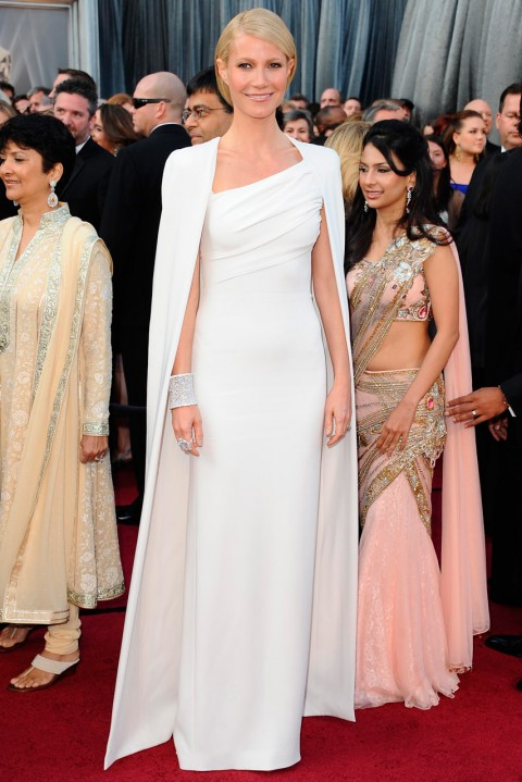 Gwyneth Paltrow at the Oscars 2012