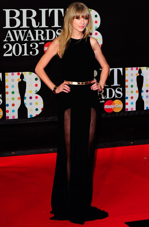 Taylor Swift - BRIT Awards 2013