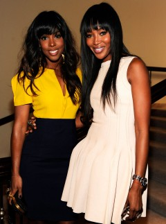 Kelly Rowland and Naomi Campbell at the Essence Black Women in Hollywood luncheon in LA