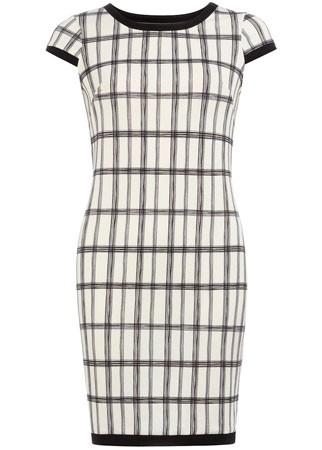 Dorothy Perkins checked dress, £25