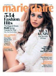 Marie Claire April issue