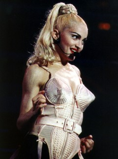 Madonna, Jean Paul Gaultier exhibition