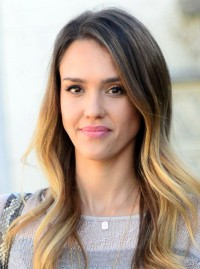 Jessica Alba Dip-dye 