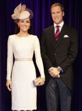 Kate Middleton waxwork