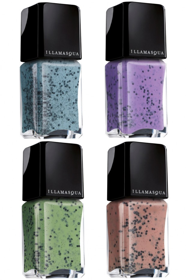 Nail Art Speckled Egg Illamasqua Nail Varnish
