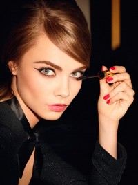 Cara Delevingne is the face of Baby Doll by Yves Saint Laurent