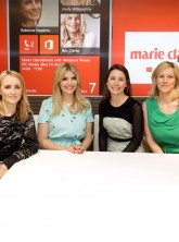 Trish Halpin, Holly Willoughby, Rebecca Hopkins, Bec Clarke