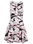 Tibi geometric print dress