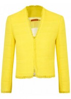 Alice and Olivia cotton blend jacket, �340