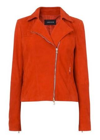 Jaeger suede biker jacket, £399