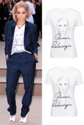 Rita Ora Queen Delevingne Simeon Farrar Tshirt