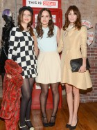 AleTali Lennox and Alexa Chung at The Great British Party