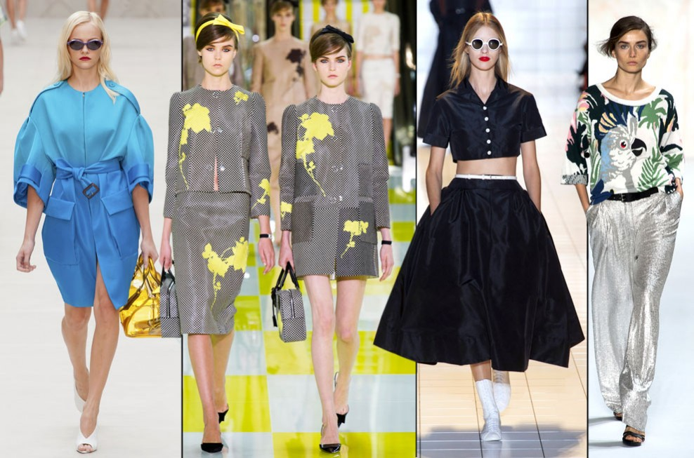 Beauty and Fashion: Spring/Summer 2013 Fashion Trends
