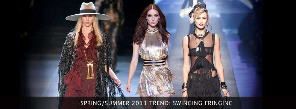 Spring/Summer Trend: Swinging Fringing