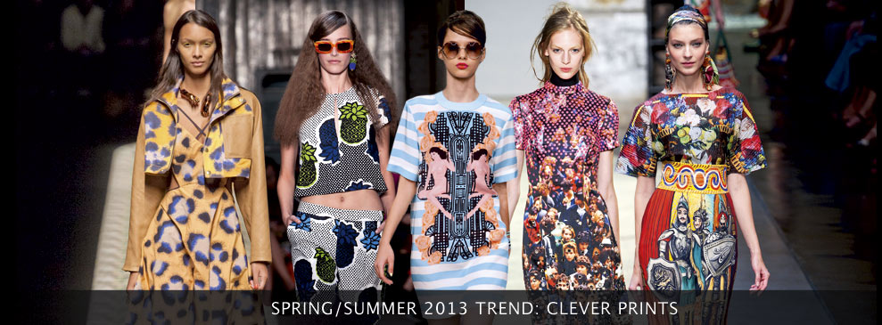 Spring/Summer Trend: Clever Prints