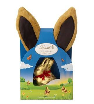 Easter Eggs Lindt gold bunny & ears