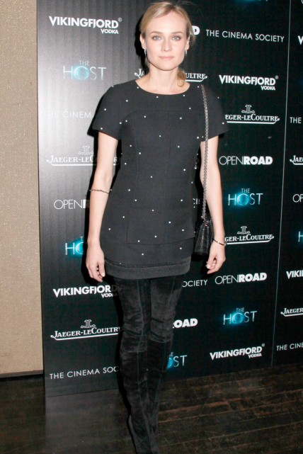 Diane Kruger at the New York screening of The Host