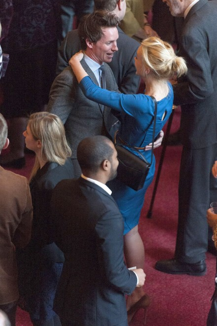British Film Industry reception Eddie Redmayne and Carey Mulligan