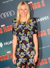 Gwyneth Paltrow at the Paris premiere of Iron Man 3