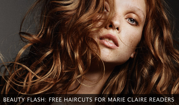 Beauty Flash: Free Haircuts For Marie Claire Readers