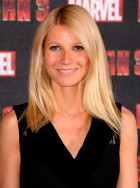 Gwyneth Paltrow promotes Iron Man 3 at London photocall