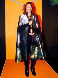 Zaha Hadid wins the Veuve Cliquot Business Woman Award 2013