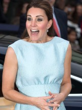 Kate Middleton visits the National Portait Gallery