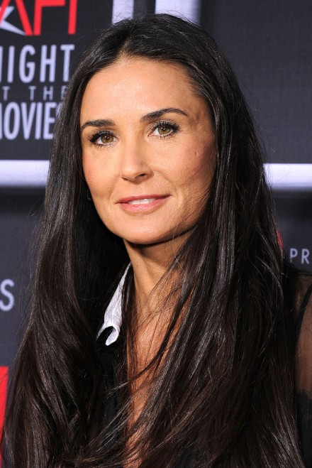 Demi Moore Makes Rare ...