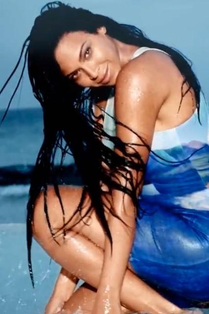 Beyoncé Is Breathtaking In New HM Swimwear Ad