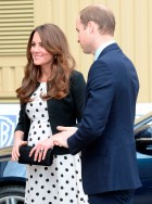 Kate Middleton, Prince William and Prince Harry-