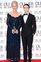 The stars turn out for the Olivier Awards 2013